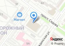 Компания «Шоутехник» на карте