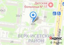 Компания «Дентел Центр» на карте