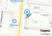 Компания «Цветочный Визит» на карте