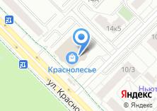 Компания «Строящееся административное здание по ул. Краснолесья» на карте