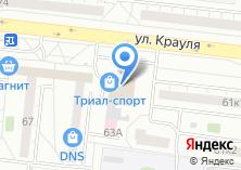 Компания «Изида» на карте