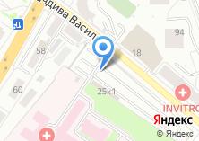 Компания «Автостоянка на ул. Начдива Васильева» на карте