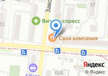 Компания «ВИЗ» на карте