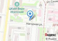 Компания «Автостоянка на Нагорной» на карте