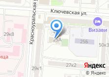 Компания «Мировые судьи Верх-Исетского района» на карте