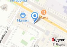 Компания «МастерПринт» на карте