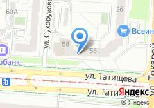 Компания «Уралтеплосервис» на карте
