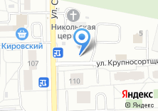 Компания «Автостоянка на ул. Крупносортщиков» на карте