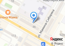 Компания «Абак» на карте
