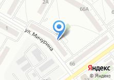 Компания «Красная линия» на карте