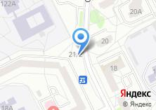 Компания «Магазин-салон цветов» на карте