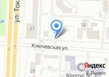 Компания «Автостоянка на Ключевской» на карте