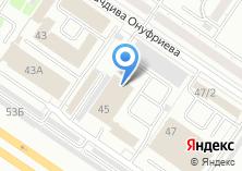 Компания «Автотехосмотр 66» на карте