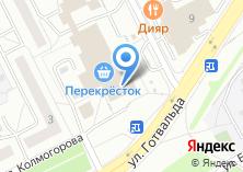 Компания «Ортикс» на карте