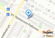 Компания «Сервис Центр 38» на карте
