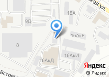 Компания «Амител96» на карте