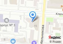 Компания «Уральская сервисная ИТ-компания» на карте