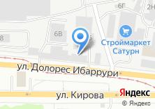 Компания «Тектум» на карте