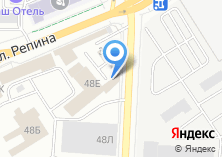 Компания «Шальная пена» на карте