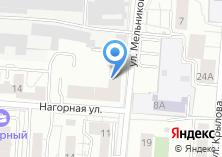 Компания «Минутамаркет» на карте