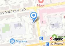 Компания «ТАРДИС» на карте