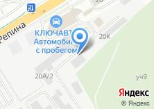 Компания «АвтоТехЦентр Мустанг» на карте