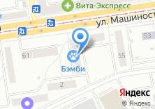 Компания «Квартиры» на карте
