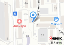 Компания «Строящийся жилой дом по ул. Данилина» на карте