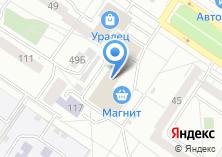 Компания «Орентекс» на карте