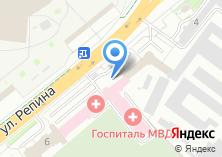 Компания «Медико-санитарная часть ГУВД по Свердловской области» на карте