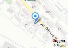 Компания «Строящееся административное здание по ул. Летчиков» на карте