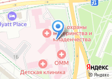 Компания «Лечебно-реабилитационный отдел НИИ ОММ» на карте