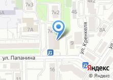 Компания «Цветочка» на карте