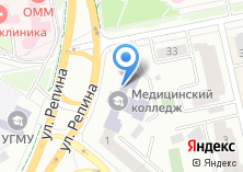 Компания «Ассоциация средних медицинских работников Свердловской области» на карте