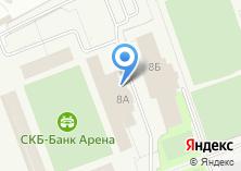 Компания «Уральская школа тенниса» на карте