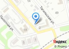 Компания «Автостоянка на ул. Летчиков» на карте
