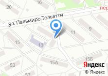 Компания «УралИнПром» на карте