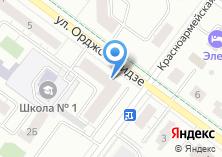 Компания «Сушкоф» на карте