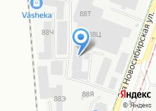 Компания «Ураллин» на карте