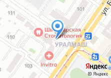 Компания «Строящийся жилой дом по ул. Победы» на карте