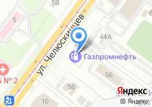 Компания «АЗС Газпромнефть-Урал Верх-Исетский район» на карте