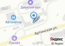 Компания «ТЕХЭЛЕКТРО-ЕКАТЕРИНБУРГ» на карте
