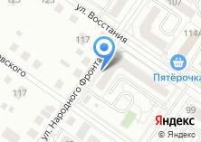 Компания «Строящийся жилой дом по ул. Восстания» на карте