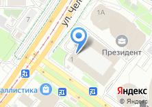 Компания «Банкомат Банк Москвы» на карте