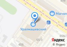Компания «Дамский» на карте