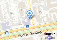 Компания «УрФУ» на карте