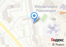 Компания «Ассоциация развития дорожного сервиса Свердловской области» на карте
