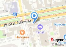 Компания «Свердловсккурорт» на карте