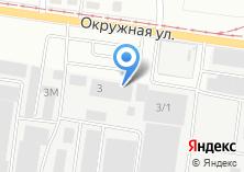 Компания «АСМ» на карте
