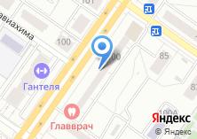 Компания «Сервант» на карте